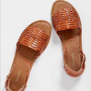 Maurice's huarache brown sandals